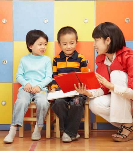 kids learning chinese